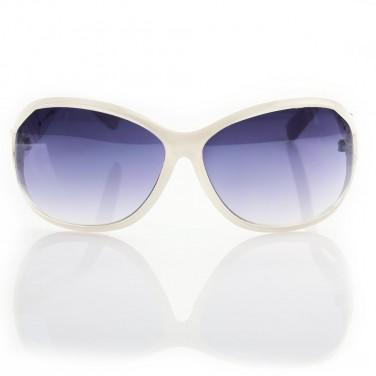 VIPER 1982 - Lunettes de soleil femme tendance - Monture blanc translucide