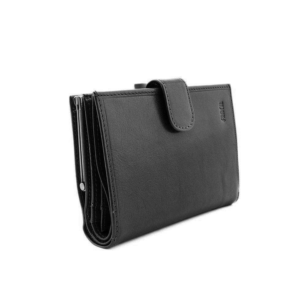 Portefeuille femme 100% Cuir - Porte clés OLIVIA