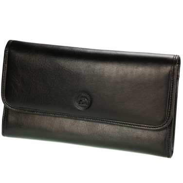 Portefeuille en cuir - Grand Portefeuille Porte Chéquier Femme PACK cadeau avec porte clés