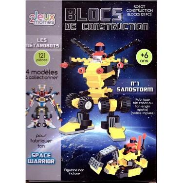 EA9998 - Blocs De Construction - Robot 110 pcs - Modèle aléatoire
