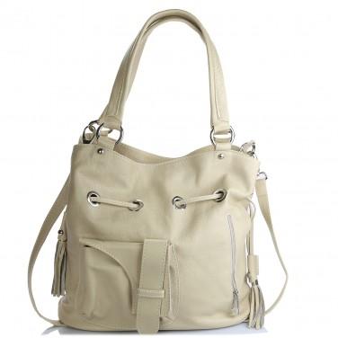 Sac en cuir marron OLIVIA N1397 / Sac étudiante Cuir de vachette LIVRAISON GRATUITE / Handbag Leather