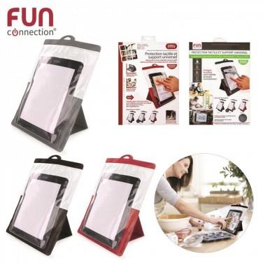 protection tactile et support tablette 10pouce, 3
