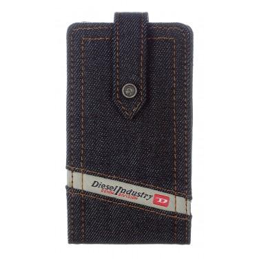 Diesel X00843 Diesel New Thoreau Denim Housse en cuir pour iPhone 4/4S Indigo