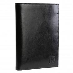 BEST-SELLER TK01 - Portefeuille cuir noir / Portefeuille homme / 15x11