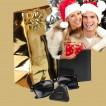 PACK Cadeau Portefeuille homme cuir noir+porte-clés+lunettes / 15x11 TK01 RFID, Noël Anniversaire Catalogue Produits