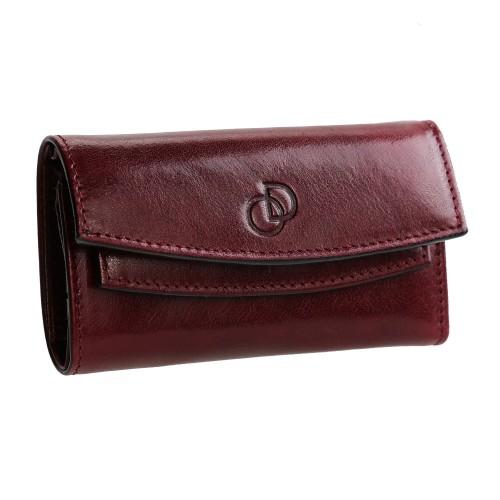 Pack Cadeau / Portefeuille cuir étui porte-clés porte-monnaie 3en1 OD417 homme, femme dim. 11 cm