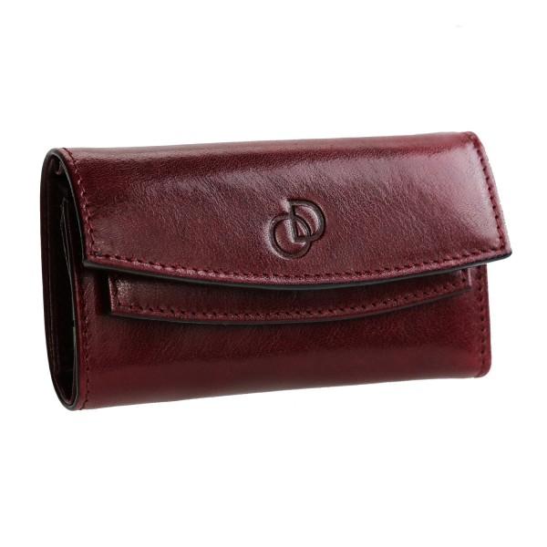Etui porte Clés / Cartes 3 EN 1 porte-clés/porte-monneie. portefeuille cuir noir TK150 Idée cadeau homme femme