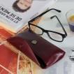 """Etui lunette modèle """"COPERTA"""" 100% CUIR, étui à lunettes de vue, étui type pochette en cuir véritable 17 x 7 cm plus accessoires"""