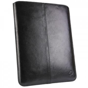 "Housse iPad, étui universelle cuir véritable ""OD-ipa"" 20x25 cm"