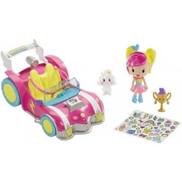 Barbie Voiture Poupée-Accessoires Jeu Vidéo 2D, DTW18