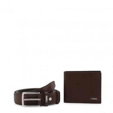 Portefeuille et ceinture pour hommes, cadeau Noël hommeCarrera Jeans NEW-HOLD_CB1512C_DKBROWN