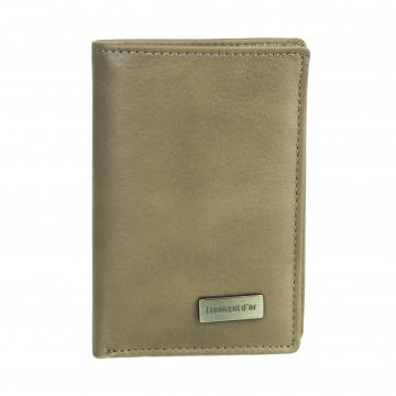 Petite Maroquinerie - Portefeuille/Porte-cartes en cuir N1284 FUSHIA