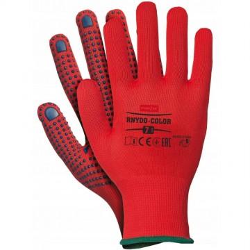 Gants de Travail Femme très solide avec revêtement antidérapant, Taille 7