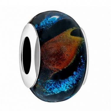 Drpos Charme Bracelet Pendentif verre multicoleur N°630