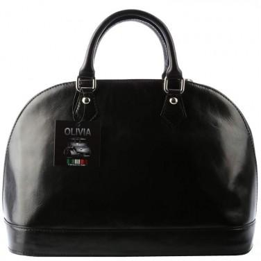 Sac en cuir Noir VENISE N1059 Sac cuir de haute qualité