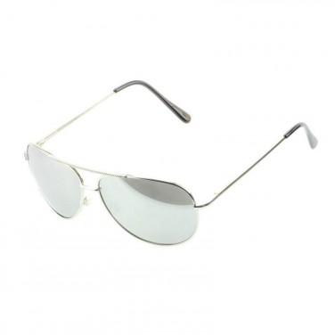 VIPER - Lunettes de soleil N1477 Monture ARGENT / VERRE UV400