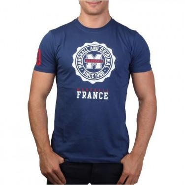 T-Shirt bleu 1621 FRANCE Coupe Du Monde Brasil TAILLE L / T-SHIRT HOMME
