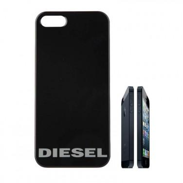 Coque-housse de chez DIESEL pour iPhone 5 modèle noir N1672 X01901_PS918T8013