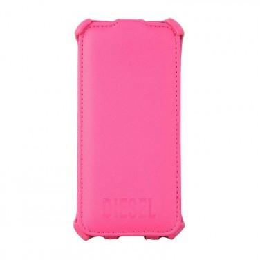 Coque iPhone 5 - Scissor Flip Case ROSE N1679 ETUI HOUSSE