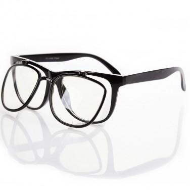 Monture seule pour les lunettes de vue / soleil. double paroi